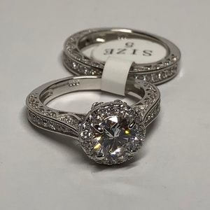 Jewelry - NEW Ring Set 925 Sterling Silver
